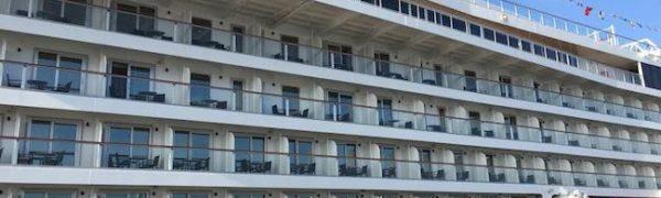 Viking Cruise: Viking Star: balconies