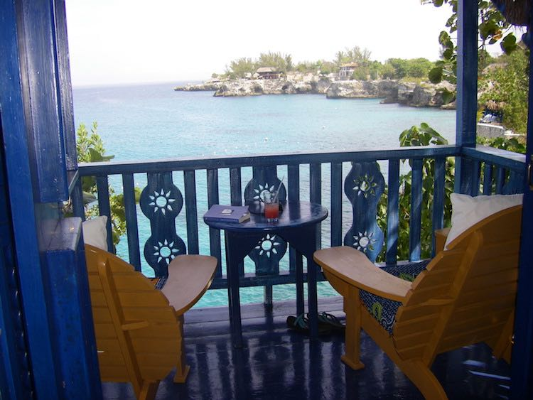 romantic Caribbean hotels: The Caves Hotel in Negril, Jamaica
