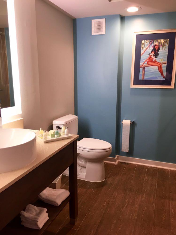 bathroom at Margaritaville Resort Biloxi