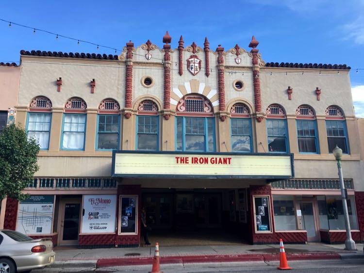 historic El Morro Theatre in Gallup NM