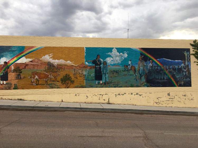 wall mural in downtown Gallup New Mexico