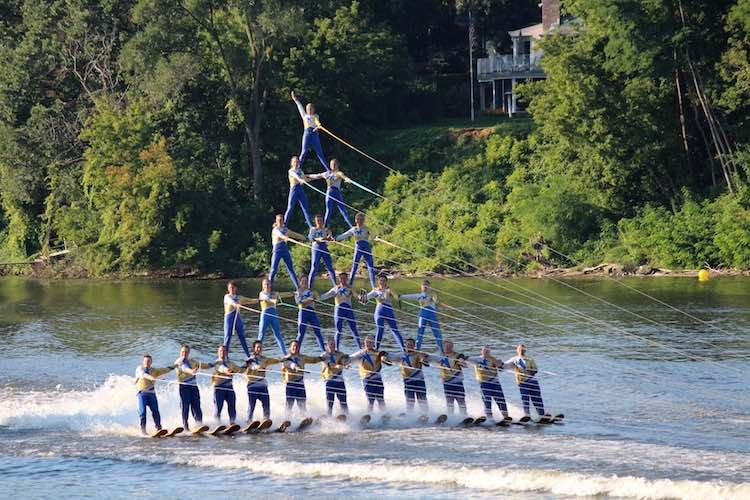 Rock Aqua Jays Water Ski Team in Janesville WI