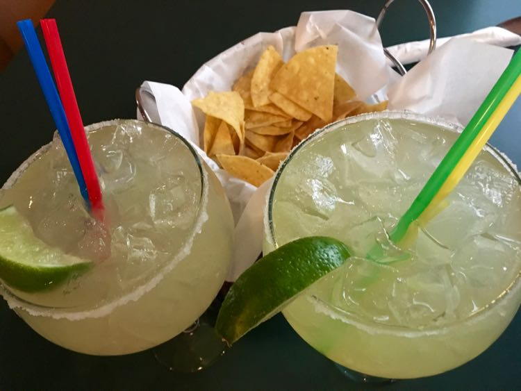 start with margaritas and chips & salsa at Anthony's in Gallup NM