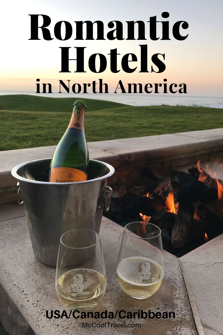 Romantic North American Hotels: For upcoming romantic vacations, treat your partner to more than a romantic hotel room. Maybe a romantic B&B, luxury yurt, or one of these romantic resorts.