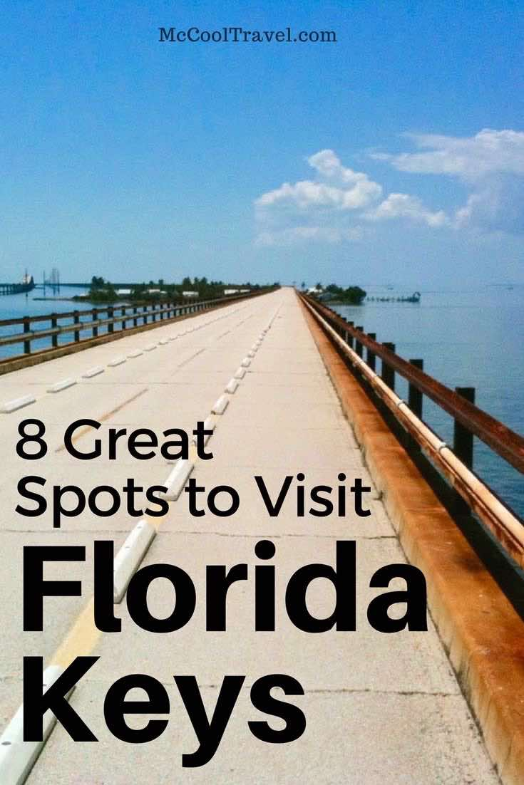 8 great spots to visit in the Florida Keys (the Conch Republic), with pictures and descriptions. Some of these Florida Keys destinations are local faves.