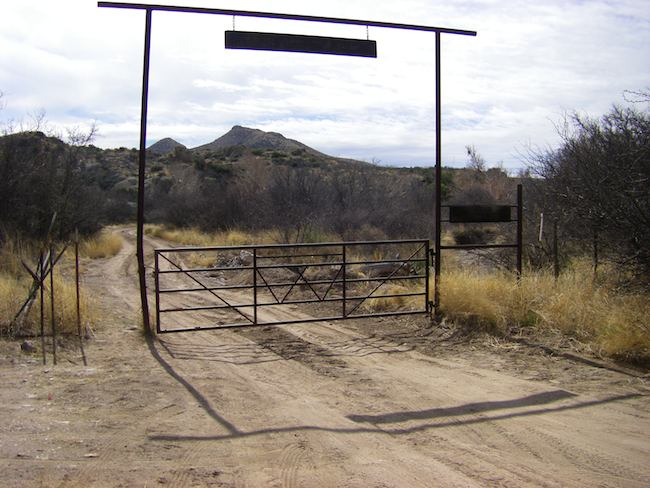 Loneliest Road in America, Guadalupe Canyon Road in Arizona