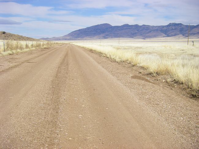 Loneliest Road in America, CR 002 in New Mexico, Geronimo Trail in Arizona