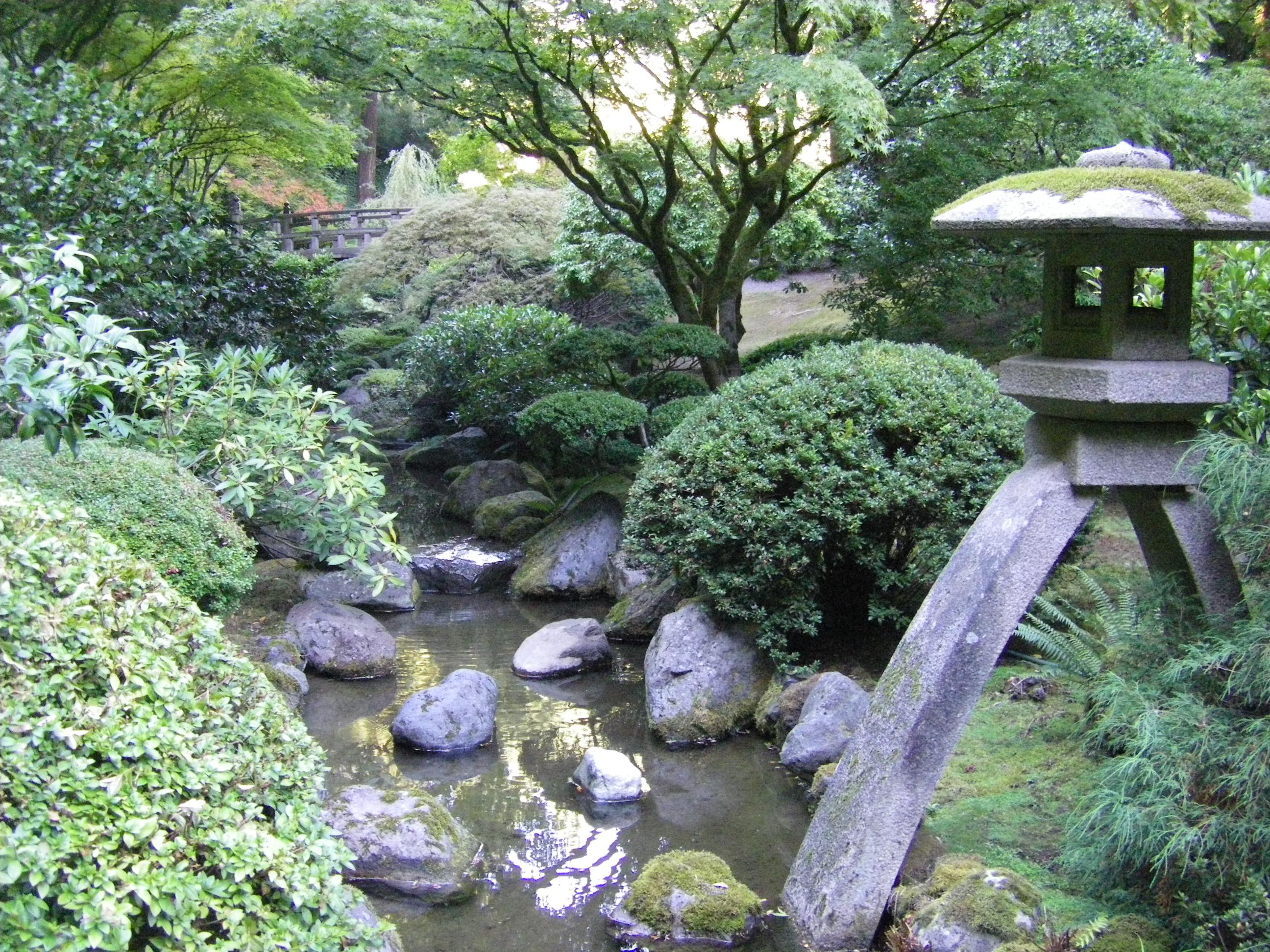 A Slice Of Heaven Japanese Garden Portland Oregon