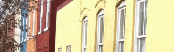 Georgetown DC Row Houses