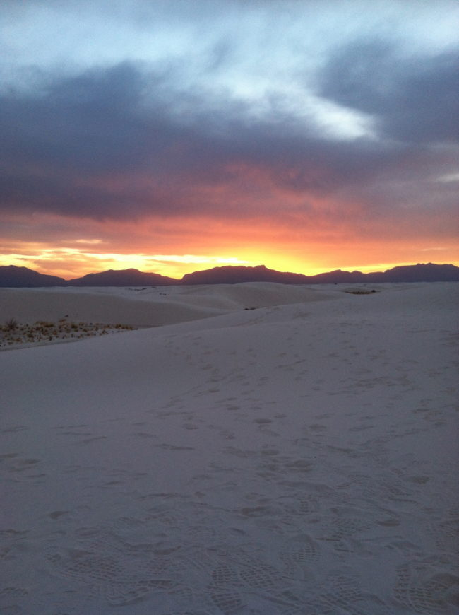 McCool Travel: white sands national monument