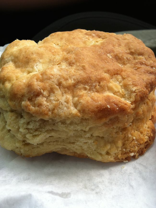 summer foods: fresh biscuit, West End Bakery, West Asheville, NC