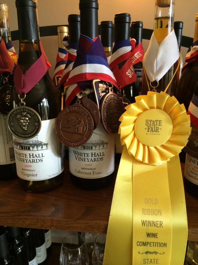 White Hall Vineyards, Monticello Wine Trail, Charlottesville, Virginia