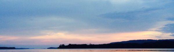 Northeast Alabama: Guntersville Lake sunset