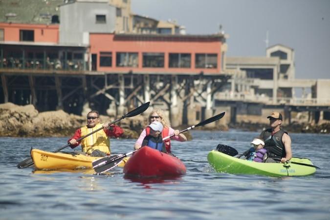 Monterey kayaks