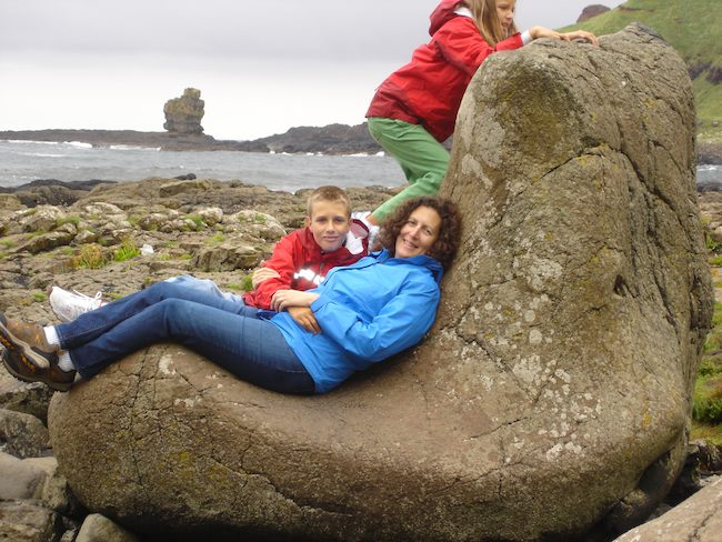 Finn McCool's boot, Giant's Causeway, Northern Ireland