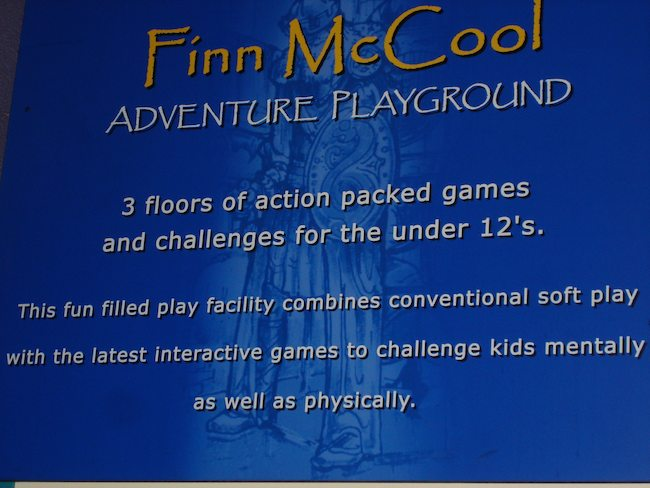 Finn McCool Playground, Portrush, Northern Ireland