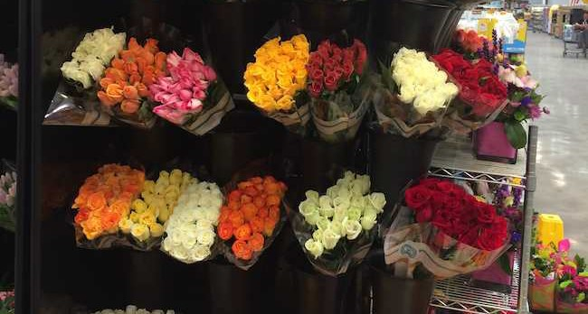 Buying Mother's Day flowers - Costco