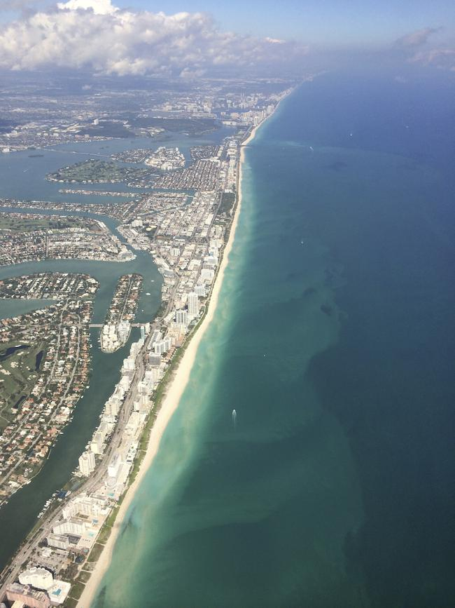 Miami Beach from the air, Scenic Drives in South Florida by McCool Travel