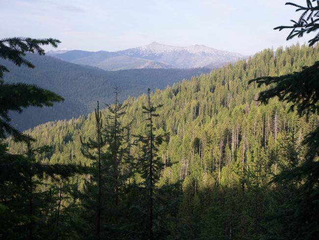 Idaho route 12 scenic view