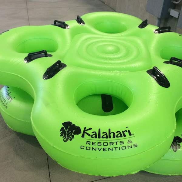 Kalahari Resort floats