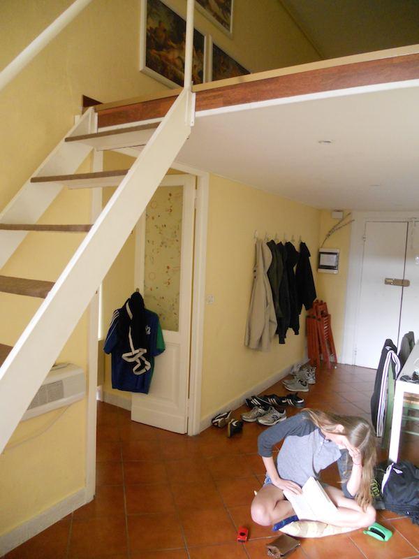 Airbnb, Rome, loft