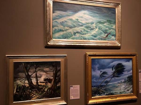 Brown art museum Florida weather