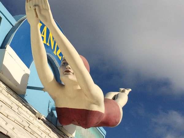 Jantzen store, Daytona Beach Boardwalk