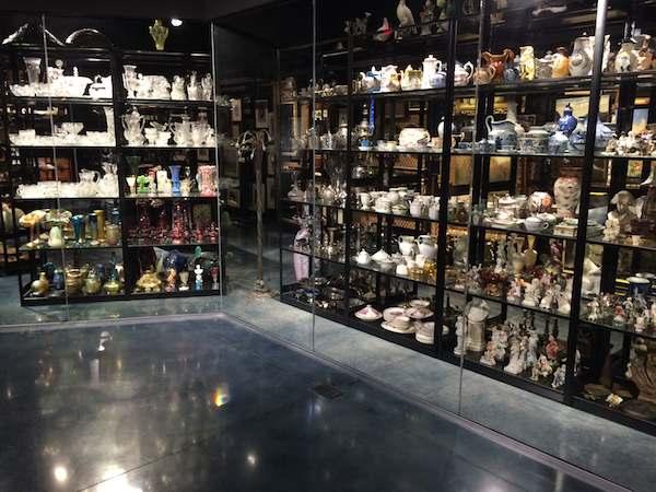 MOAS museum storage display