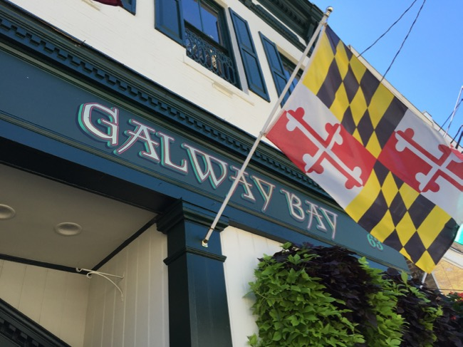 5 fun places to eat in Annapolis: Galway Bay