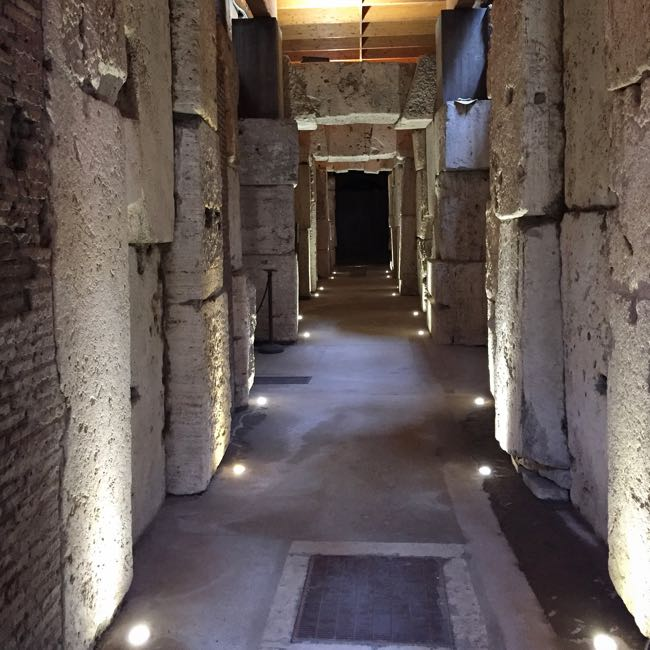 Colosseum underground tour Rome Italy