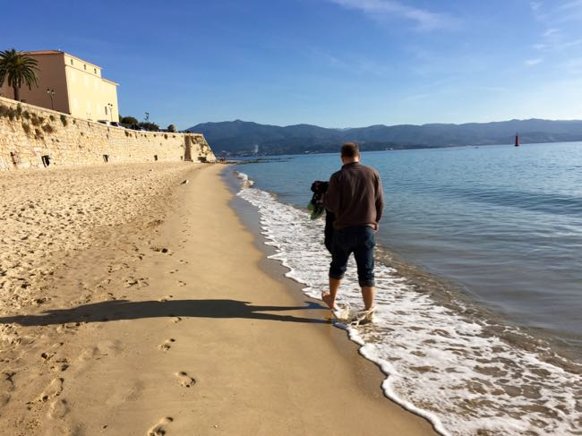 Mediterranean stroll in Corsica