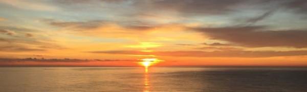 Sunrise from Viking Star, Monaco