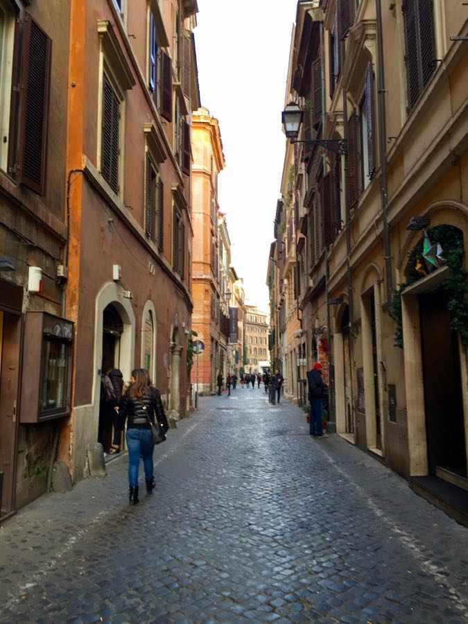 Rome Monti street