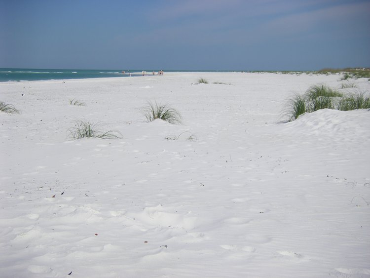 Scenic Drives in Florida: Anna Maria Island beach