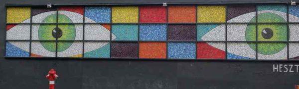 Budapest mosaic art