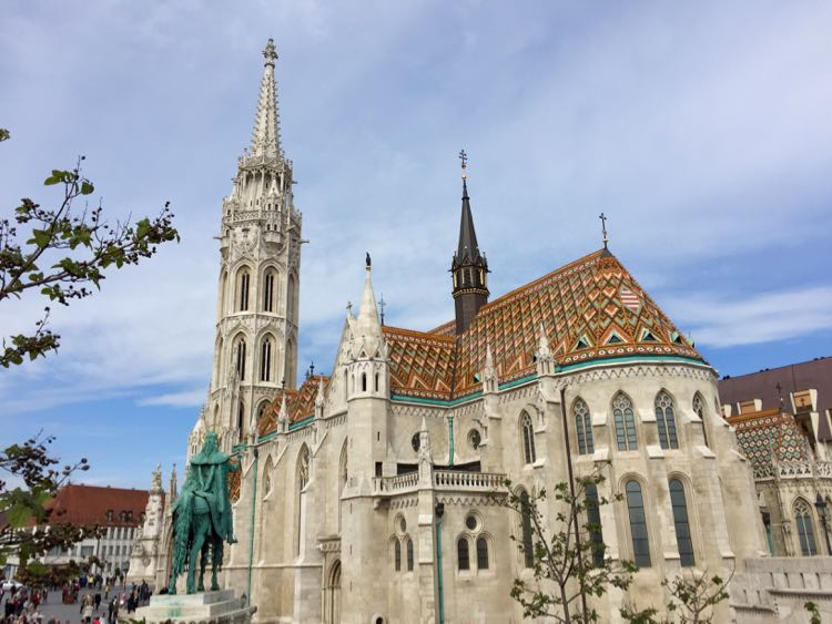 Matthias Church Budapest Viking River
