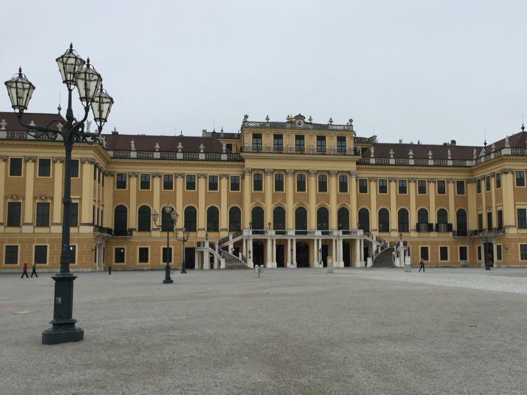 Schonnbrun Palace, Vienna Austria, Viking River