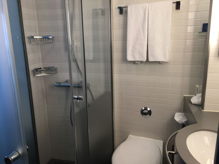 Viking River Cruises stateroom bath