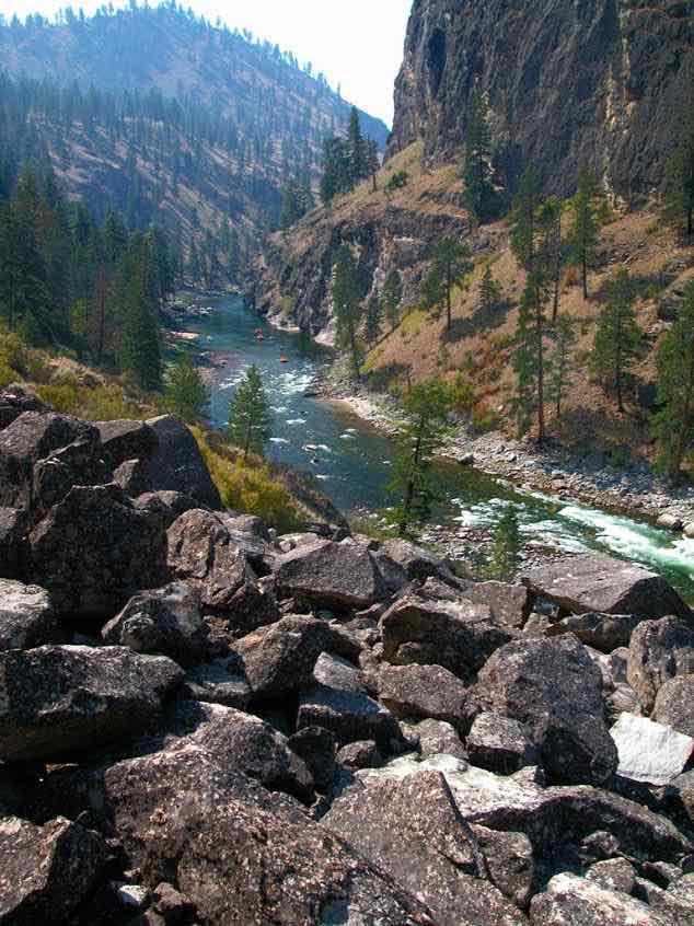digital detox at Frank Church River of No Return Wilderness Area, Idaho
