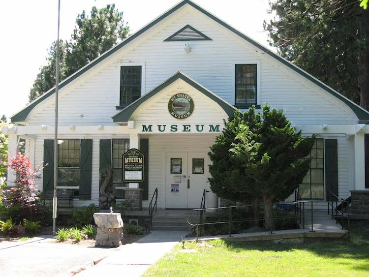 Museums of western US: Mt. Shasta Museum