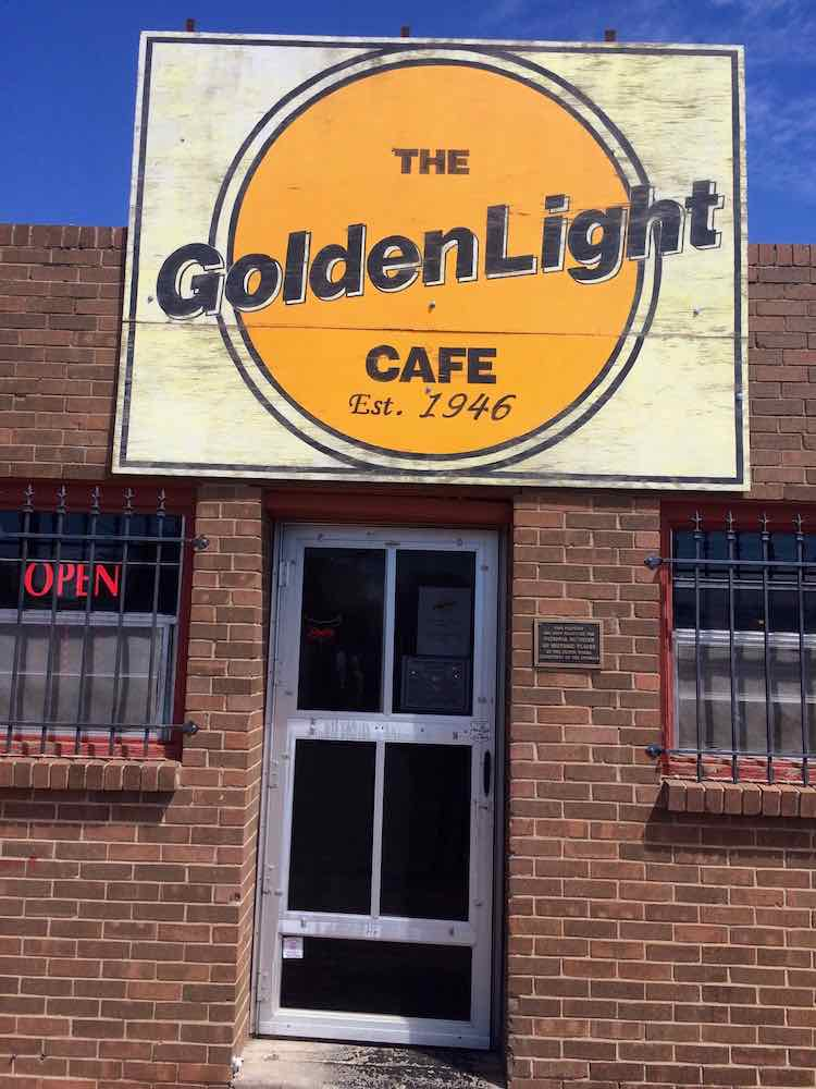 things to do in Amarillo: Golden Light Cafe on Route 66