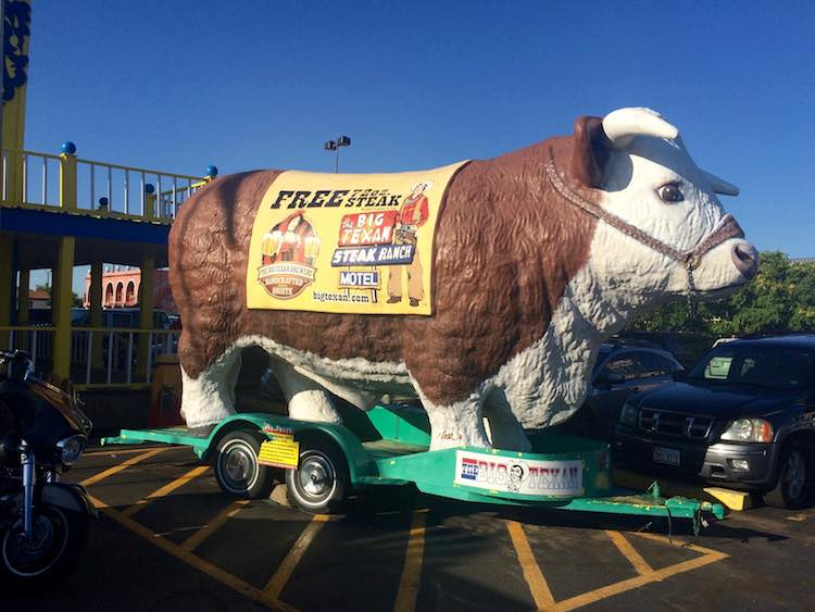 things to do in Amarillo: The Big Texan Steak Ranch