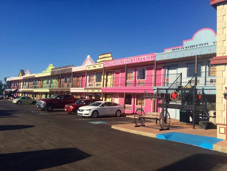 things to do in Amarillo: motel at The Big Texan