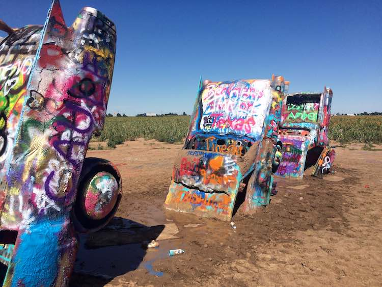 things to do in Amarillo: Cadillac Ranch