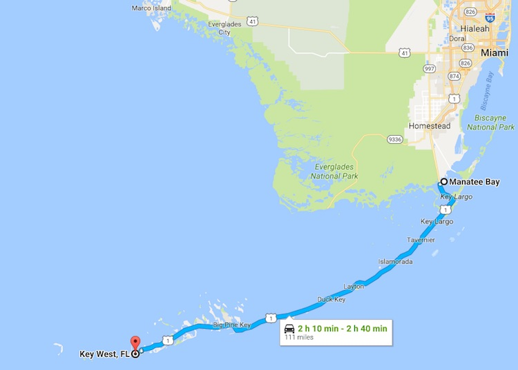scenic drives in Florida: Overseas Highway, Florida Keys