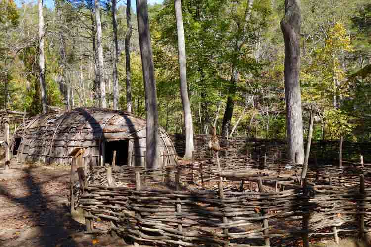 Things to Do in Shenandoah Valley: Natural Bridge Monacan Indian Village