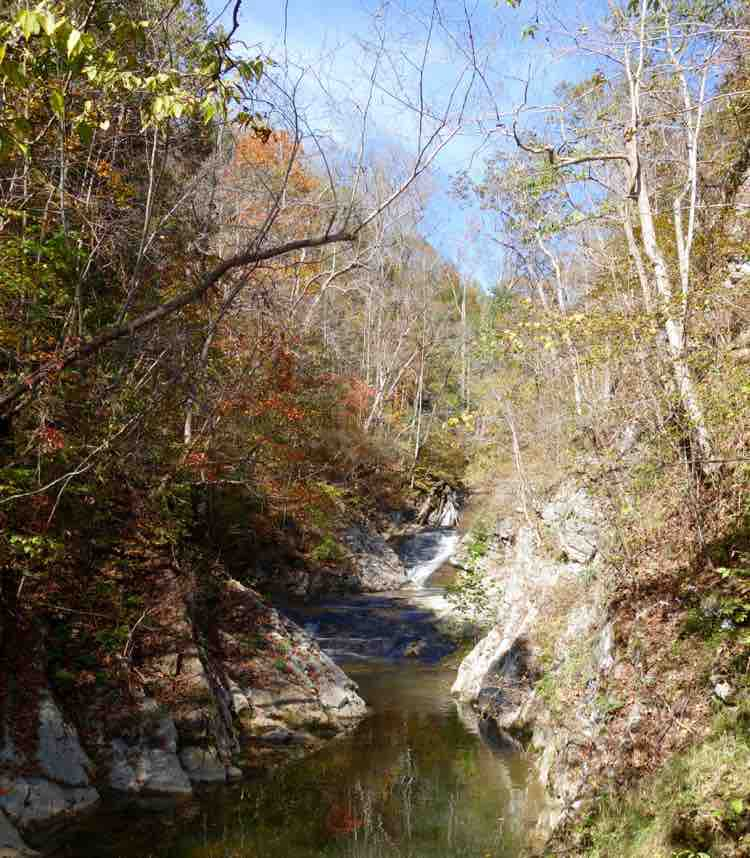 Things to Do in Shenandoah Valley: Natural Bridge waterfall