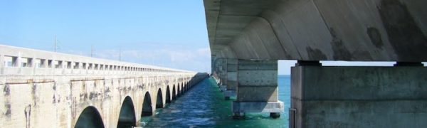 scenic drives in Florida: Seven Mile Bridge