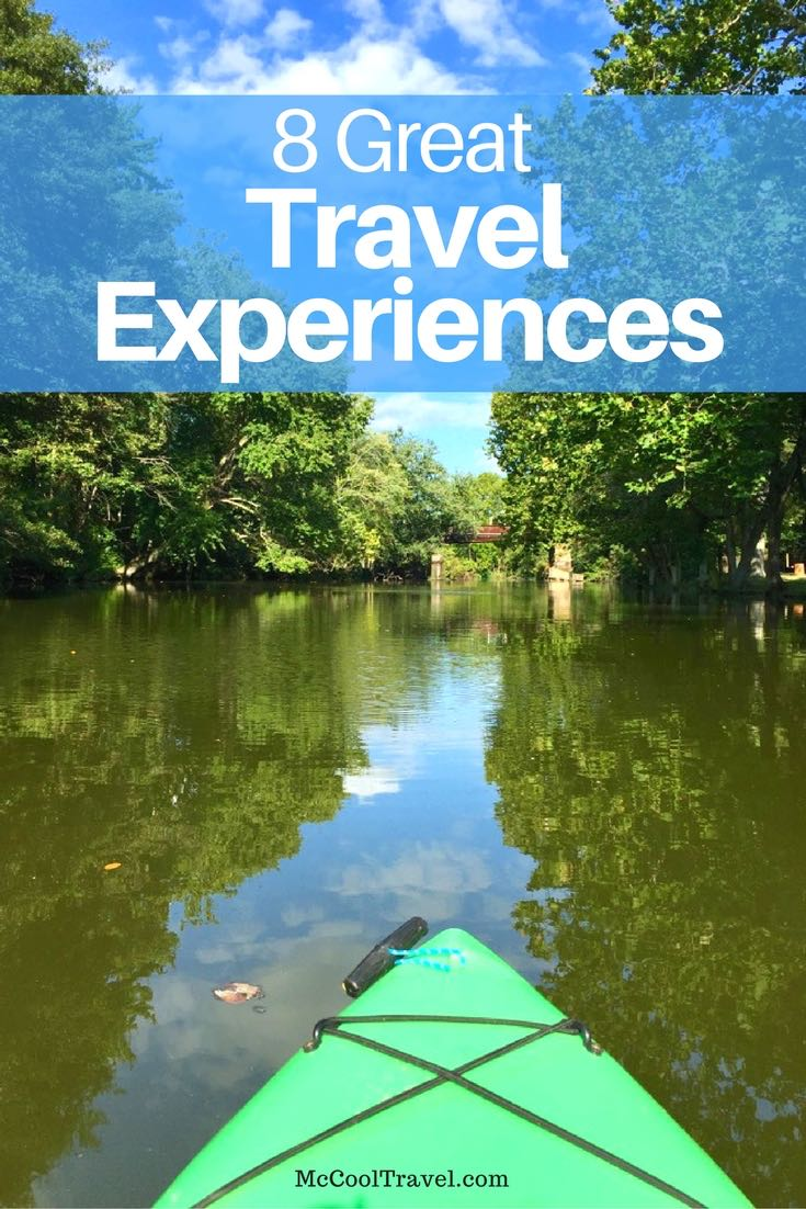These 8 great travel experiences will make you happy, and include some suggestions from leading travel experts. What are your great travel experiences?