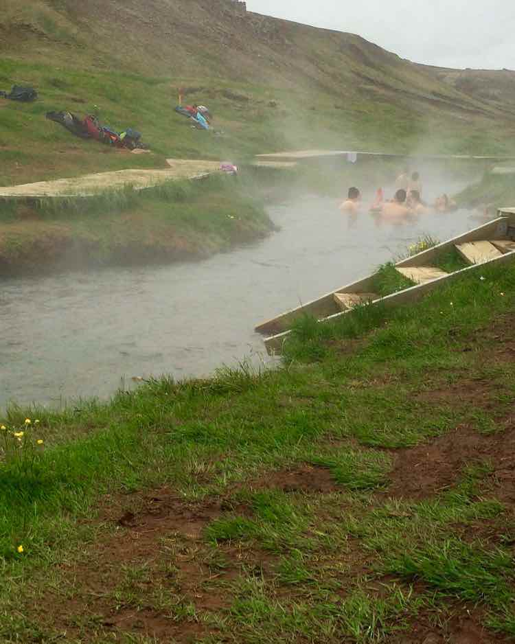 great travel experiences: Iceland public hot spring